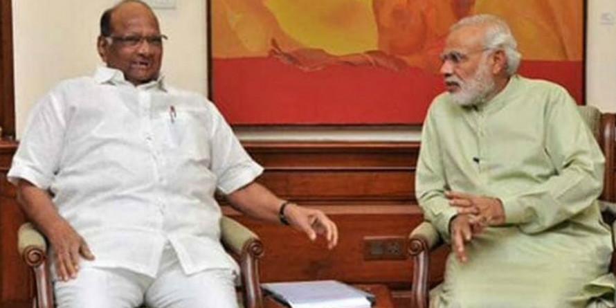 शरद पवार ने पीएम मोदी से किसानों की हालत पर करी चर्चा