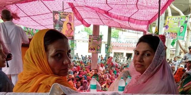 महिलाएं न ले टेंशन, घर बैठे मिलेगी बुढ़ापा पेंशन – नैना चौटाला