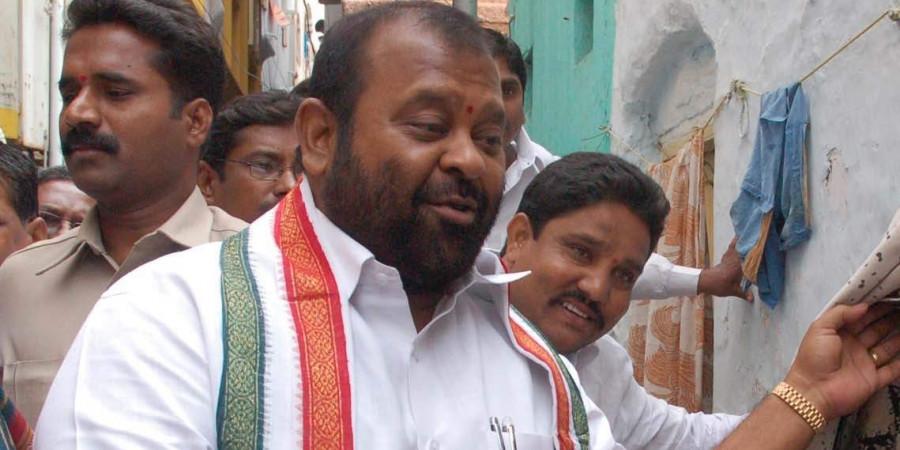 Telangana Congress leader Mukesh Goud critical