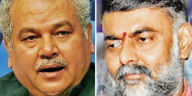 मोदी के मंत्रीमंडल में शपथ लेने नरेंद्र सिंह तोमर और प्रहलाद पटेल के पास आया फोन