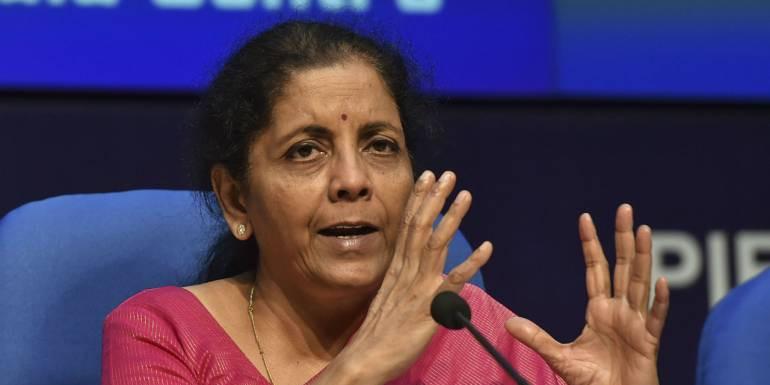 वित्त मंत्री निर्मला सीतारमण ने कंपनियों को टैक्स में दी भारी छूट