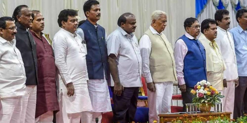 2 new ministers inducted to Karnataka Cabinet