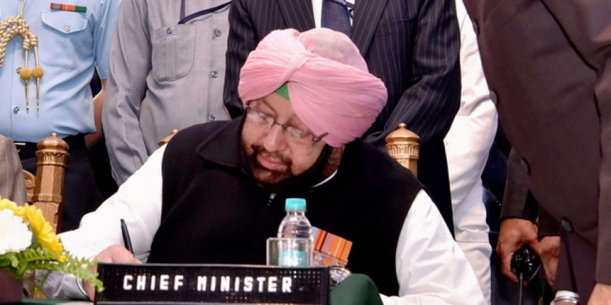 Any officer unhappy with IPS officer Sidhu as anti-drug STF chief can leave Punjab: Amarinder Singh