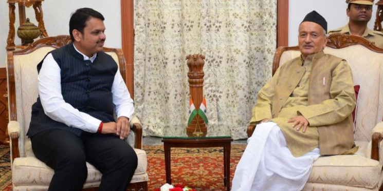 CM, Divakar Raote met governor to dissolve the tension b/w two parties