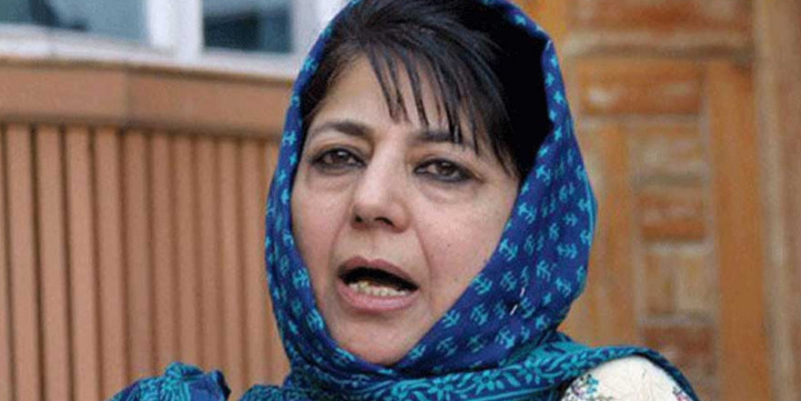 Mehbooba Mufti urges J&K parties to fight against Centre's move to scrap Article 35A