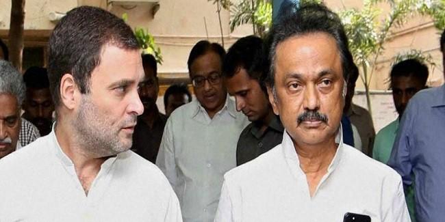 तमिलनाडु में राहुल का भाजपा पर वार, डीएमके नेता एमके स्टालिन को बताया अगला सीएम