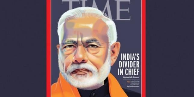 TIME के कवर पेज पर PM मोदी, मैगजीन ने बताया 'डिवाइडर इन चीफ'