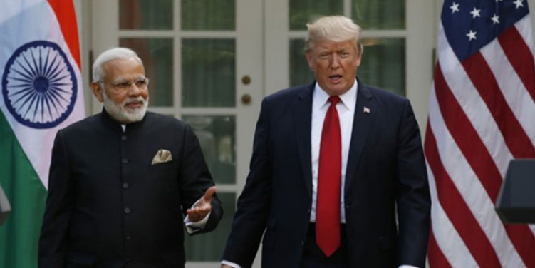 ट्रंप के सामने बोलें मोदी, 'कश्मीर दो देशों का मुद्दा है, किसी तीसरे की जरूरत नहीं'