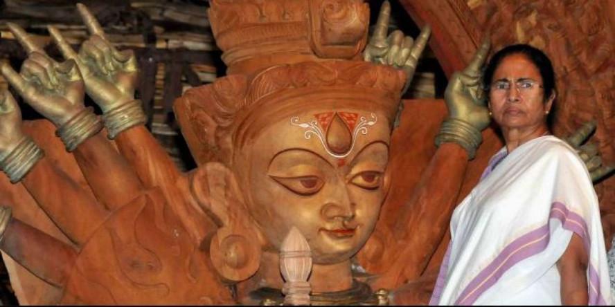 Mamata Banerjee Seeks Report on Durga Pooja 2019