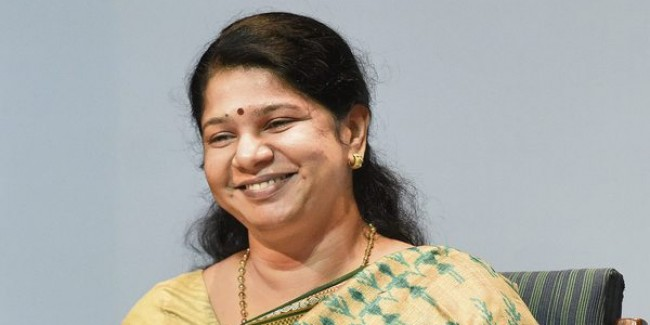 Tamil Nadu government scared to get water from Kerala due to Modi: Kanimozhi