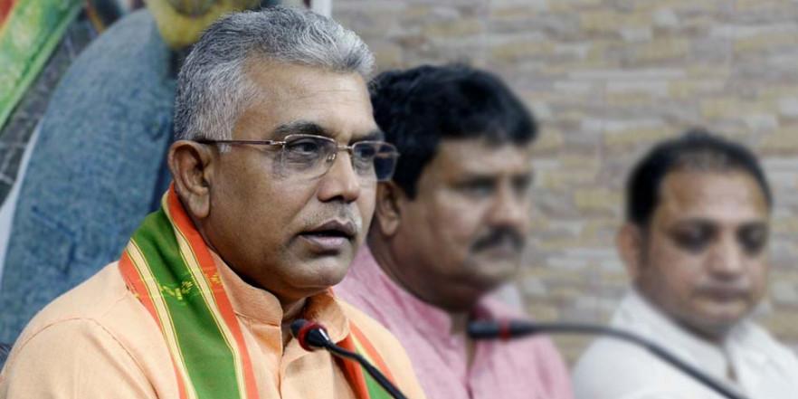 पश्चिम बंगाल बीजेपी अध्यक्ष दिलीप घोष पर हमला, TMC पर लगाया आरोप