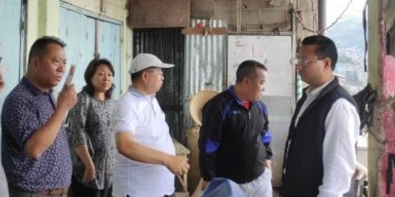 Mizoram govt to relocate over 1,000 traders from Aizawl market