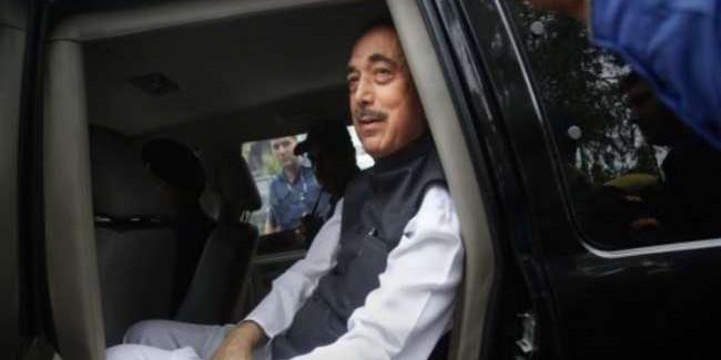 जम्मू संभाग के दौरे पर आए आजाद दिल्ली लौटे, कहा-संसद में उठाएंगे जम्मू कश्मीर के मुद्दे