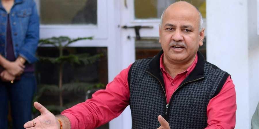 Delhi deputy CM Manish Sisodia attacks Modi government on GDP numbers