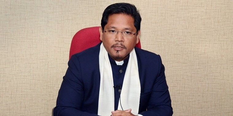 Meghalaya Chief Minister Conrad Sangma inspects entry, exit point of Mendipathar railway station