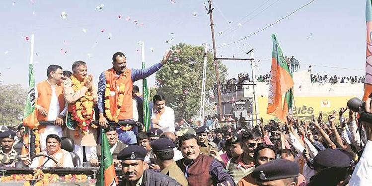 BJP wins Gujarat bypoll, gets 100th MLA in the Assembly