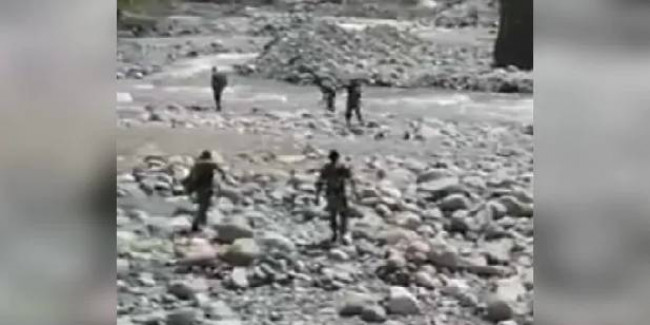 CRPF Men Jump Into River To Rescue Woman In Jammu And Kashmir