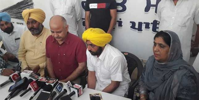 Sisodia reaches Sangrur to do micro-management for general election