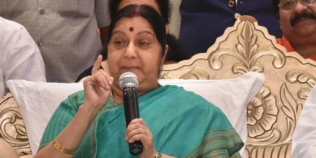 "Crossed All Limits"": Sushma Swaraj Warns Mamata Banerjee After Outburst"