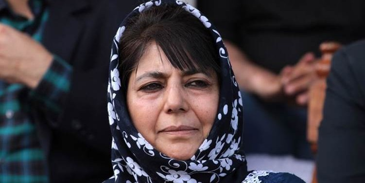 Mehbooba Mufti urges PM Modi to declare ceasefire in J&K after Amarnath Yatra