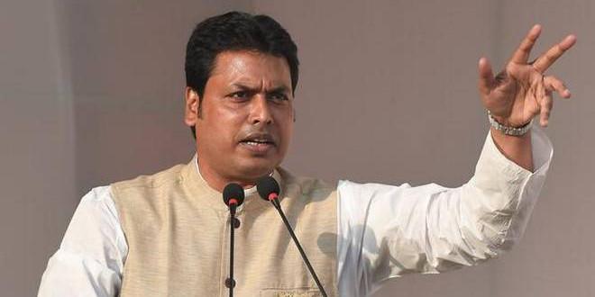 Tripura CM Biplab Kumar Deb bats for PMJAY benefits
