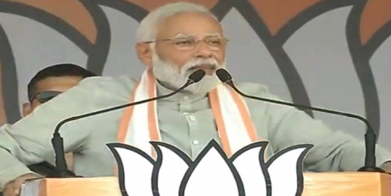 Congress hatched 'Hindu terror' conspiracy to defame our religious heritage: Modi