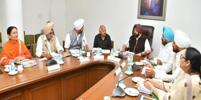 विधानसभा सत्र से पहले पंजाब कैबिनेट ने लगाई फैसलों की झड़ी, यहां पढ़ें अहम फैसलें