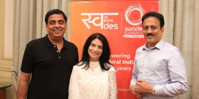 Maharashtra's Water Resources Minister and Swades Foundation come together for water conservation