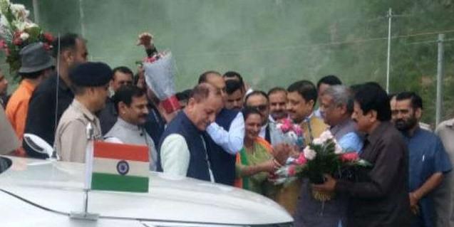 मुख्यमंत्री पहुंचे सिरमौर, उपचुनाव से पहले पच्छाद को देंगे बड़ी सौगात