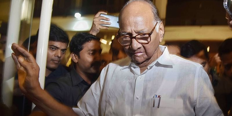This is Ajit's personal decision and not of the NCP: Sharad Pawar