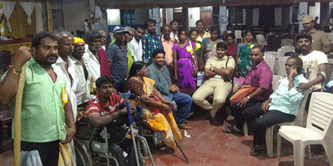 Tamil Nadu government promises to implement disability laws after protests