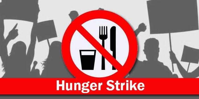 भूख हड़ताल पर डटे रहे कूंर पंचायत के उपप्रधान