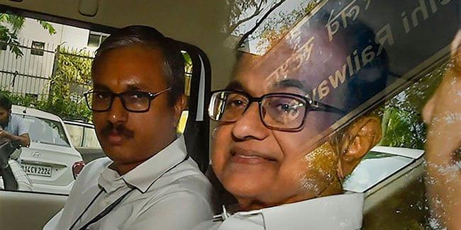Probe Agency questioned P Chidambaram at Tihar Jail