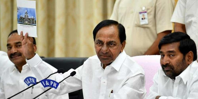 Cabinet panel submits report on new Secretariat to CM KCR