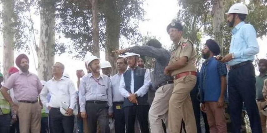 गृह मंत्रालय की टीम ने लिया करतारपुर कॉरिडोर के निर्माण कार्य का जायजा