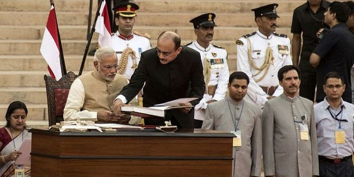 PM Modi To Take Oath On Thursday At 7 pm