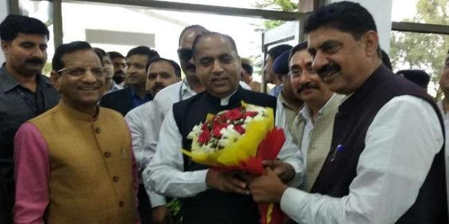 सीएम जयराम ठाकुर के स्वागत के बहाने मंत्री पद के लिए लाबिंग