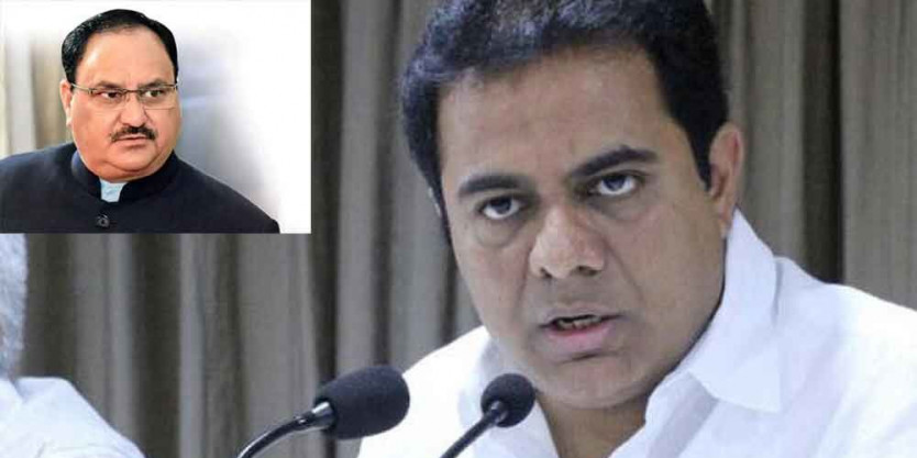 Your Karnataka dramas will not work in Telangana: KTR to JP Nadda