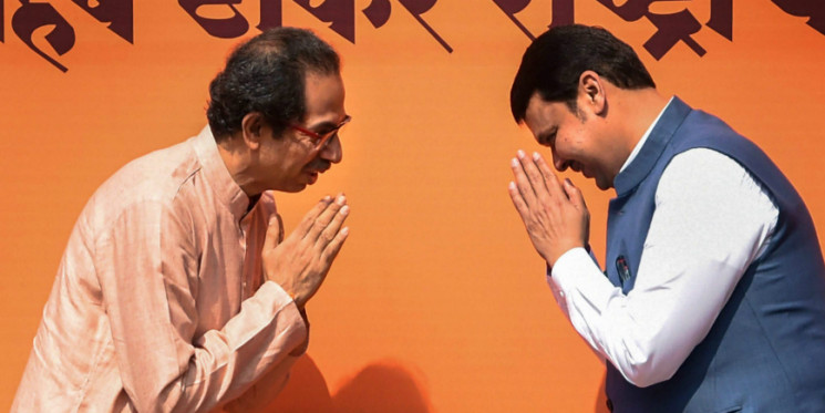 After Weeks of Wrangling, BJP and Shiv Sena May Announce Seat-sharing Pact for Maharashtra Polls Today
