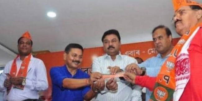 असम में नेताओं का कांग्रेस से मोहभंग, बीजेपी से जुड़ने का सिलसिला जारी