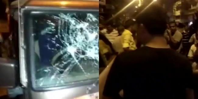 पश्चिम बंगाल में BJP प्रत्याशी के काफिले पर हमला, PM मोदी की रैली से लौटते वक्त बनाया निशाना