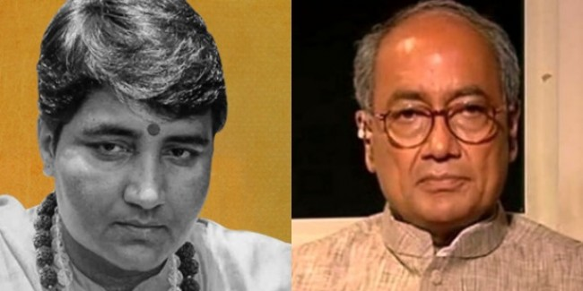 Exit Poll में दिग्विजय सिंह को पछाड़ती दिख रहीं प्रज्ञा ठाकुर