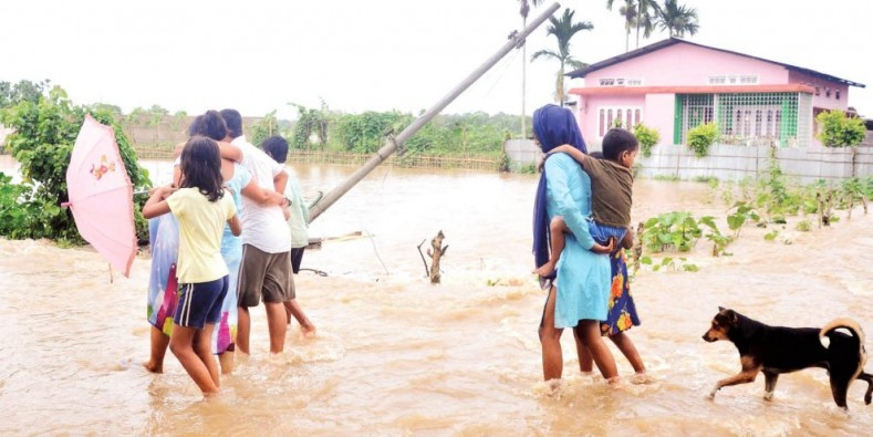 3 Killed, Over 8 Lakh Affected As Flood Situation Worsens In Assam