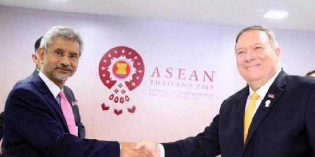 माइक पोम्पियो से मिले विदेश मंत्री जयशंकर, बोले- कश्मीर भारत-PAK के बीच का मसला