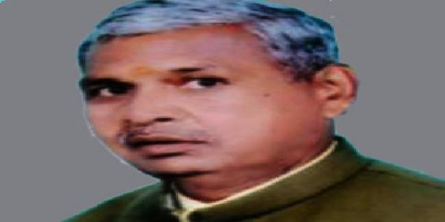 BJP विधायक रामशरण वर्मा को किया भूमाफिया घोषित।