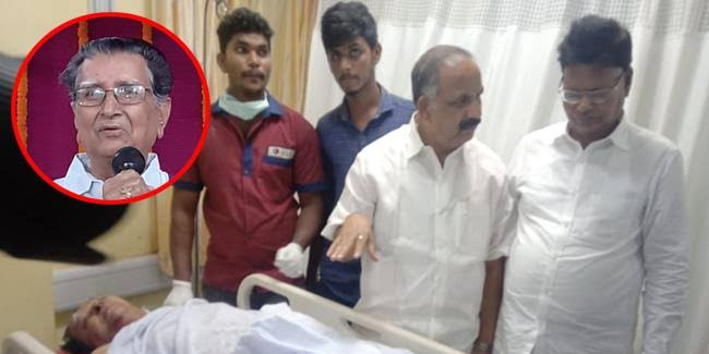 Former Minister Balireddy Satya Rao killed in accident