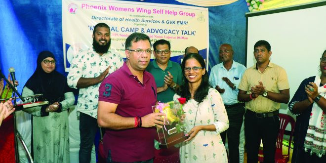 Vishwajit vows to improve cancer treatment for women