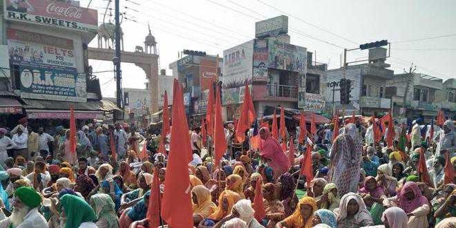 Congmen shielding assault accused, allege farm unions