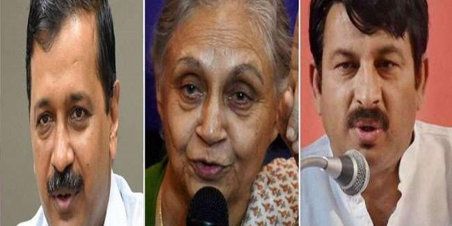 एग्जिट पोल के आंकड़ों से भाजपा खुश तो जानिए- AAP-कांग्रेस ने क्या कहा