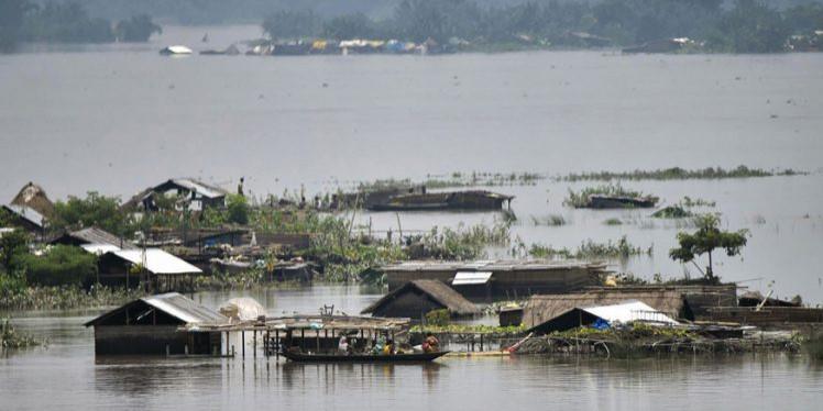 Tripura MP donates for Assam flood victims